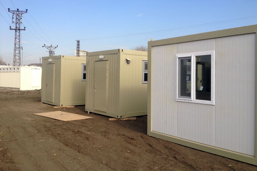 Refugee Camp Container Shelters
